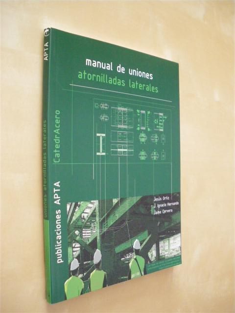 MANUAL DE UNIONES ATORNILLADAS LATERALES